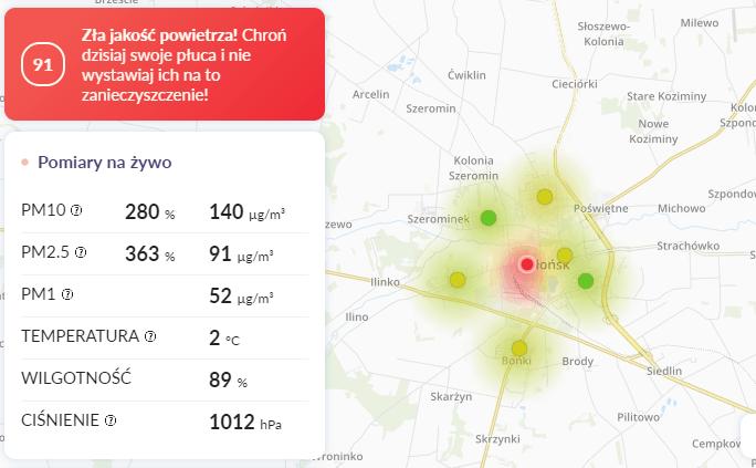 09.03 smog Płońsk