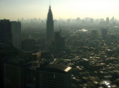 japonia smog