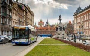 elektryczne autobusy krakow