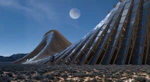 solar mouintain desing boom
